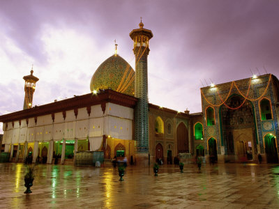 Mausoleum of Shar-e Cheragh, Shiraz, Iran