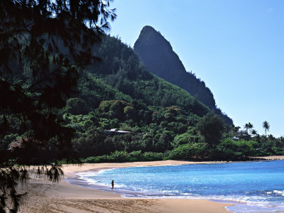 Hanalei Bay and Bali Hai, South Pacific, Hawaii, USA