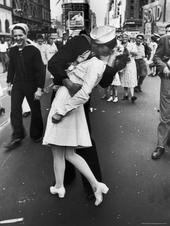 Kissing the War Goodbye, Times Square, May 8th, 1945