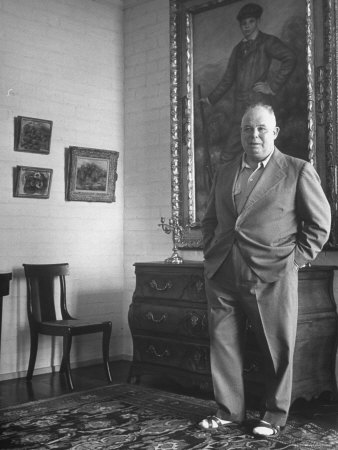 French Director Jean Renoir, Son of ...