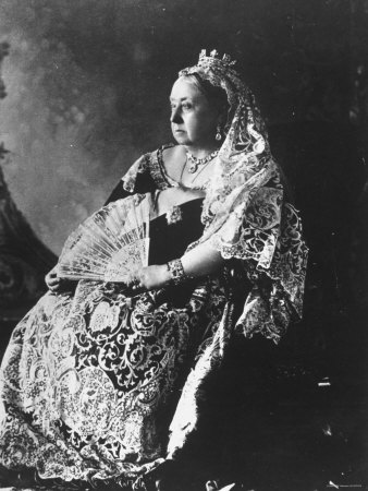 Seated Queen Victoria In Diamond Jubilee Year (1897)