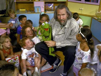 Jim Henson mit Kermit