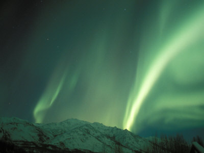 Northern Lights, Arctic National Wildlife Refuge, Alaska, USA