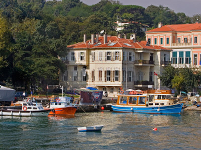 Cruise along Bosphorus, Istanbul, Turkey