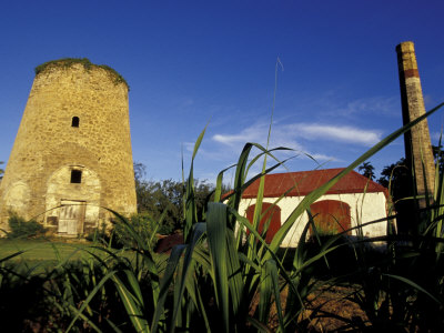 St. Nicholas Abbey Sugar Mill, St. Peter Parish, Barbados, Caribbean