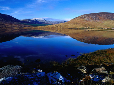 Reflections of Nephin Begs, Lough Feeagh, County Mayo, Ireland