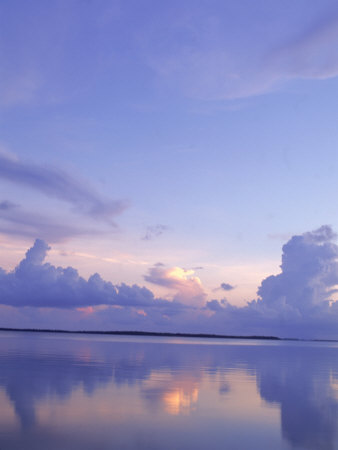 Cloud Reflections, Sunset, Grand Cayman