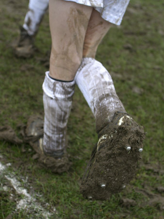 Buy A Soccer Player's Muddy Cleats at AllPosters.com