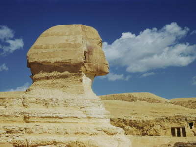The Great Sphinx in Profile
