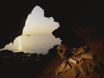 Skelett einer Neandertalerin