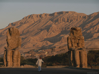 The Colossi of Memnon, Statues in the Image of Pharaoh Amenophis Iii