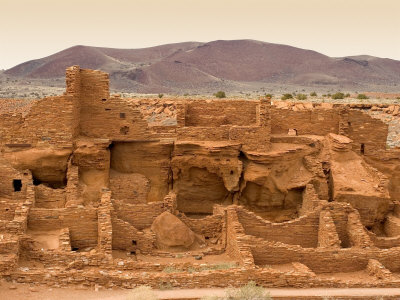 Long-Cut House, a Ruin Believed to Been Inhabited by Hopi Ancestors