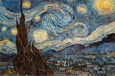 Starry Night, c. 1889 Posters