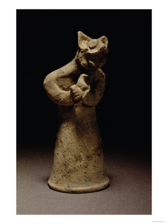 Statuette of a Lion-Headed Demon, Mesopotamia, c.5000-1000 BC