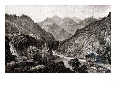 View in the Cordillera Giclee Print