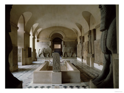 The Assyrian Room at the Louvre in Paris
