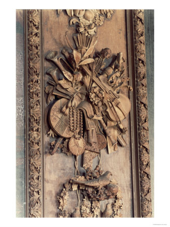 Carving by Grinling Gibbons