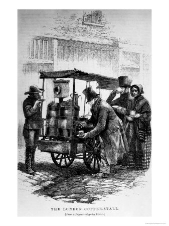 The London Coffee-Stall