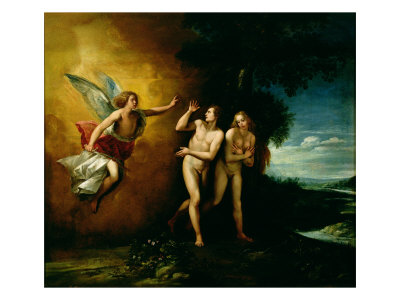 The Expulsion of Adam and Eve, Guiseppe Cesari