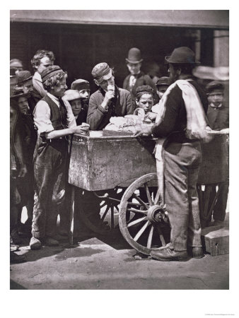 Half Penny Ices, from Street Life in London, 1876-77