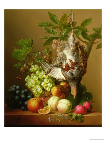Still Life with Fruit and a Dead Partridge
