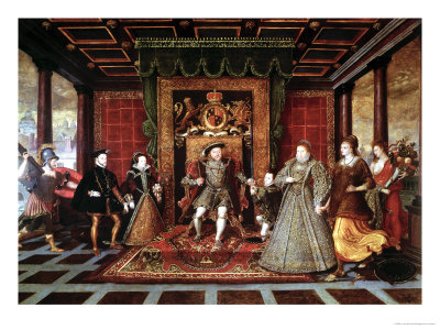The Family of Henry VIII: an Allegory of the Tudor Succession, c.1570-75