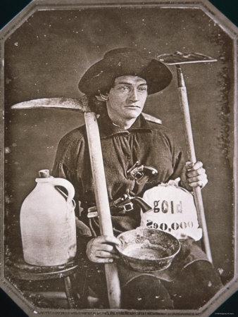 Gold Rush Prospector, 1849