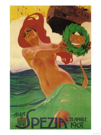 Rome, Italy - Alla Spezia Promotional Poster