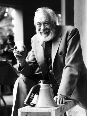 John Huston Film Director on Set of ...