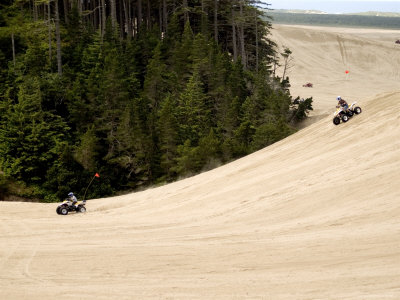 4X4 ATV Racing on Sand Dunes of ...