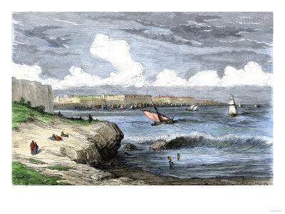 Port of Cadiz.
