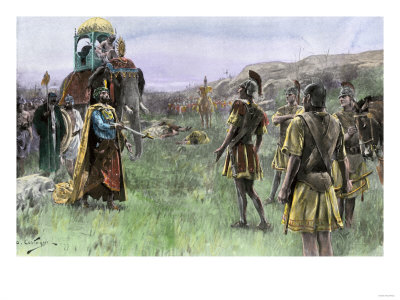 King Porus of India Surrenders to ...
