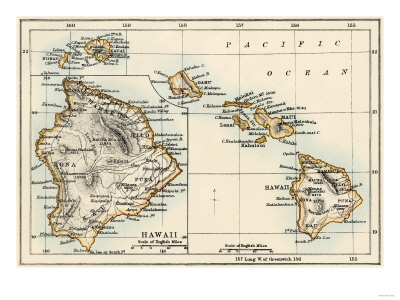 Reprints of Hawaii Map from 1870s are available by clicking on the image.