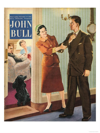 John Bull, Meeting the Parents, Dating Magazine, UK, 1950