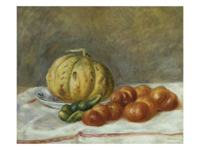 Melon and Tomates, 1903