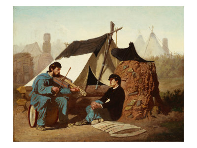 Civil War Tune, 1867 Giclee Print