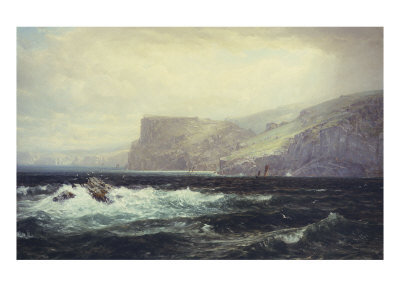 Tintagel Coast, 1884
