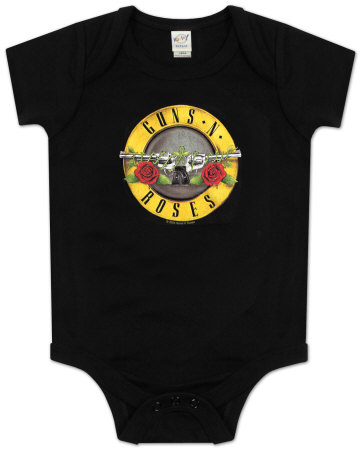 Buy Infant: Guns N Roses - Bullet Logo Bodysuit at AllPosters.com