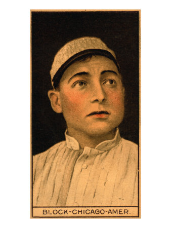 Chicago, IL, Chicago White Sox, Jimmy Block, Baseball Card