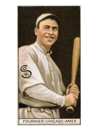 Chicago, IL, Chicago White Sox, Jaques Fournier, Baseball Card