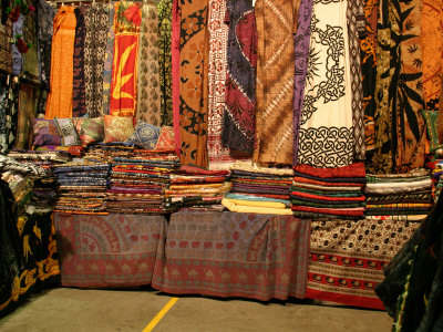 Cloth Stall, Paddy's Market, near Chinatown, Sydney, Australia