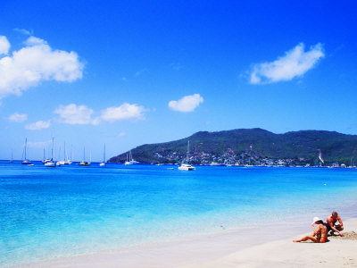 Princess Margaret Beach in Bequia, Grenadines