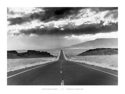 Highway 33, Shiprock - Art Print
