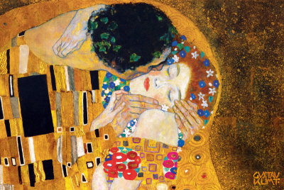 The Kiss, c.1907 (detail)