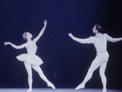 "Jaques D'Amboise Dancing ""Diamonds"" Sequence with Suzanne Farrell, Balanchine's Ballet ""The Jewels"""