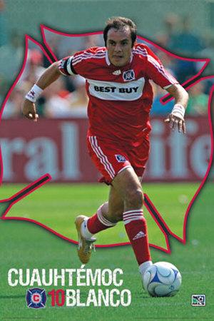 Buy MLS Cuauhtemoc Blanco at AllPosters.com