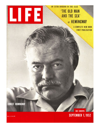 Author Ernest Hemingway Taken, September 1, 1952