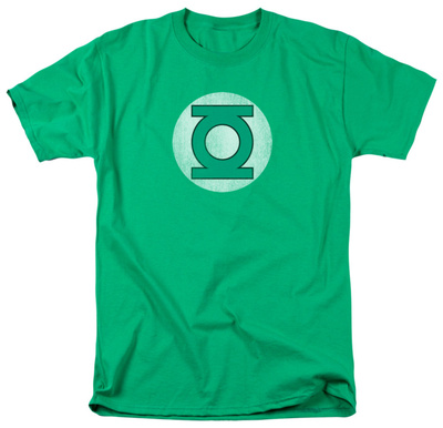 Green Lantern - Distressed Logo