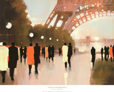 Paris Remembered Art Print