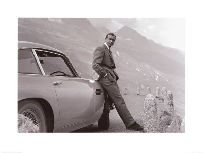 James Bond: Aston Martin Art Art Print